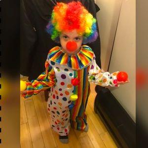 Disfraz clown/ payaso